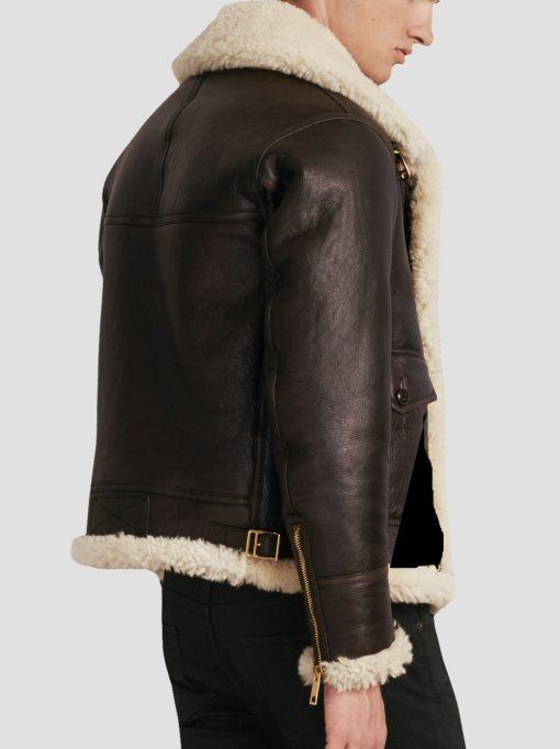 Shearling Land B3 Leather Jacket