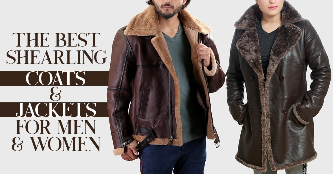 The Best Shearling Coats and Jackets for Men & Women
